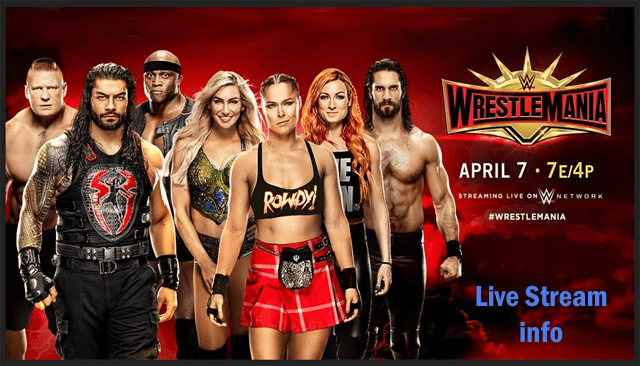 WWE WrestleMania 2019 Live Stream