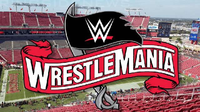 The WWE WrestleMania 2020