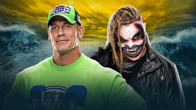 "John Cena vs The Fiend ""Bray Wyatt"""